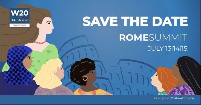 Roma 13-15 luglio 2021 – Italia Cargo parteciperà al Summit internazionale W20 – 2021 Women 20 Summit