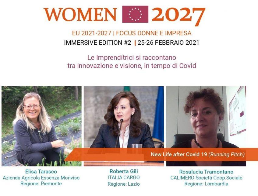 25 FEBBRAIO 2021: Conferenza Europea EU 2021-2027 WOMEN 2027 #2: Focus Donne e Impresa