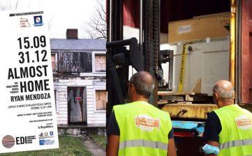 Italia Cargo trasporta la casa di Rosa Parks da New York a Napoli 15.09.2020